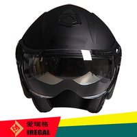 ECE approved double visor open face helmet with OEM service