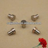 Tungsten contact rivets plating ni/ Nickel for car automobile horn