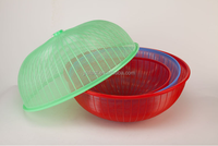 Small size big size plastic mesh food cover for dinner table dinning room many shapes