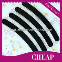 Hot selling black round nail file