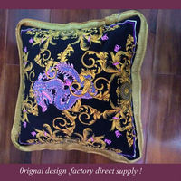 2014 New model Customize fashionable cushion cover ,cushion covers floral designs