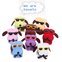 BY-P012 Creative Promotional Gift Towel,Dog Shape Gift Towel Set Packing