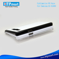 2D pc blank 2D sublimation phone case with Aluminum sheet football phone for samsung a3 a5 a7 e5 e7