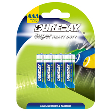 Super Heavy Duty Cell 1.5V AAA R03 UM-4 Carbon Dry Battery