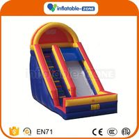 Hot Selling fantastic inflatable slide for children/water park water dry inflatable slide for kids adult party sale