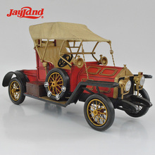 Metal red vintage model car for business gifts, 60th birthday gift ideas, restaurant decoration