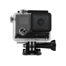 HK Fair hot selling 4K4K action cam with Wi-Fi function and screen on the back