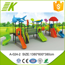 2015 new desgin kids outdoor tunnel playground equipment for sale