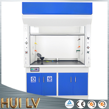 Best price chemical resistance PP and steel lab furniture equipment chemical fume hood