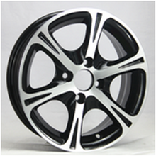High quality 14 inch sport rim aluminum alloy cheap deep dish rims and tires in stock (ZW-Z4016)