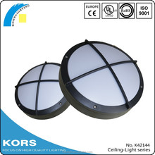 led outdoor surface mounted round well pattern luminaire IP54 Aluminum ceiling light