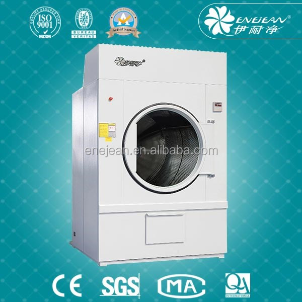 25kg Professional Laundry Clothes Gas Tumble Dryer Distributor