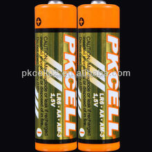 Zn/MnO2 battery type and 1.5v nominal voltage alkaline battery 1.5v lr6 aa battery