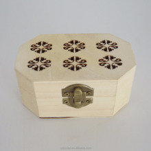 Custom white color wooden gift box Christmas chocolate box