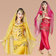 Hot belly dance Arabic costume for adult sexy lady egyptian Oriental belly dance costume