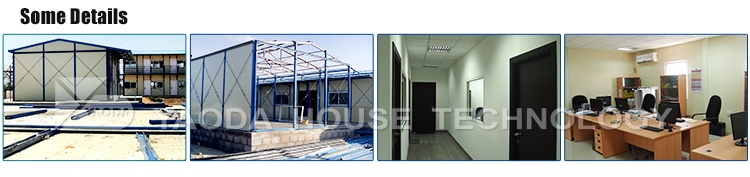 Easy assembled prefabricated apartments modular building