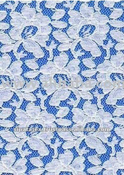 Good Quality 100% Polyester Rigid All-Over Raschel Lace