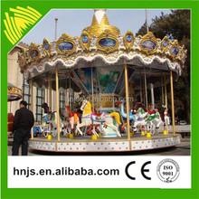 Ready stock carousel funny luxury carousel rides for sale