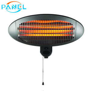 IPX4 waterproof wall mounted patio heater electric infrared thermostat heater for outdoor or indoor