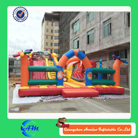 giant inflatable tiger slide cheap inflatable playground for kids outdoor playground
