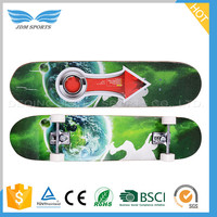 China Manufacturer Canada Maple Skateboard Deck With Exchangeable Pu Wheels
