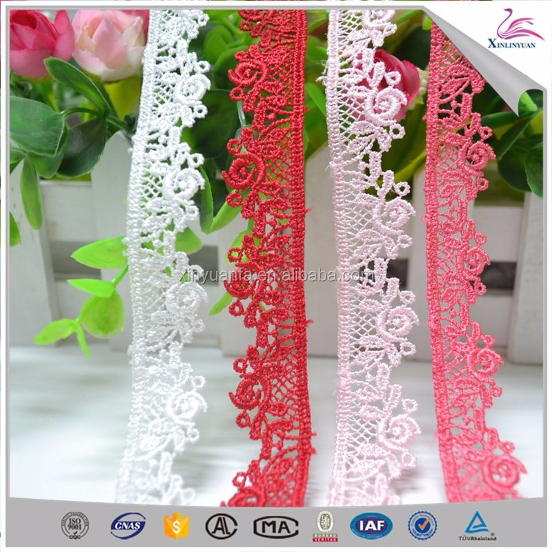 2018 Customized mesh decorative ball lace trim