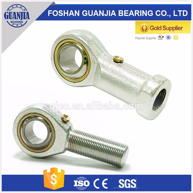 chrome steel ball joint rod end bearing POS12 male bearing