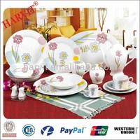 Turkish Dinnerware Set Melamine Crockery 72 PCS Dinner Set Porcelain