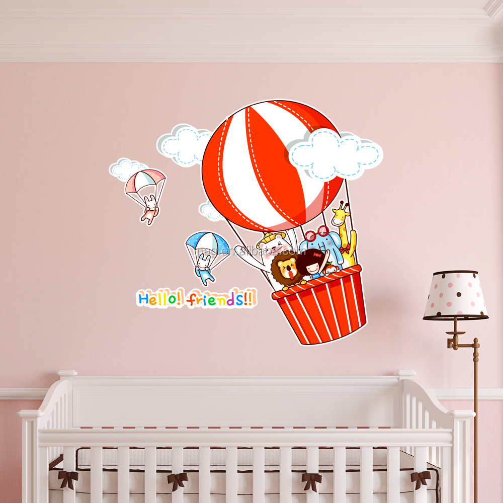 Kids room removable wall decals high quality pvc childrens for Wall decals kids room