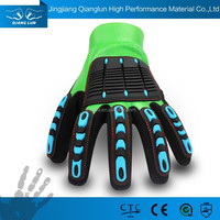 QLSAFETY High impact gloves for cut resistant and oil-field