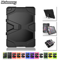 3 in 1 armor hybrid case cover stand for apple for ipad air&air2 drop resistant tablet case