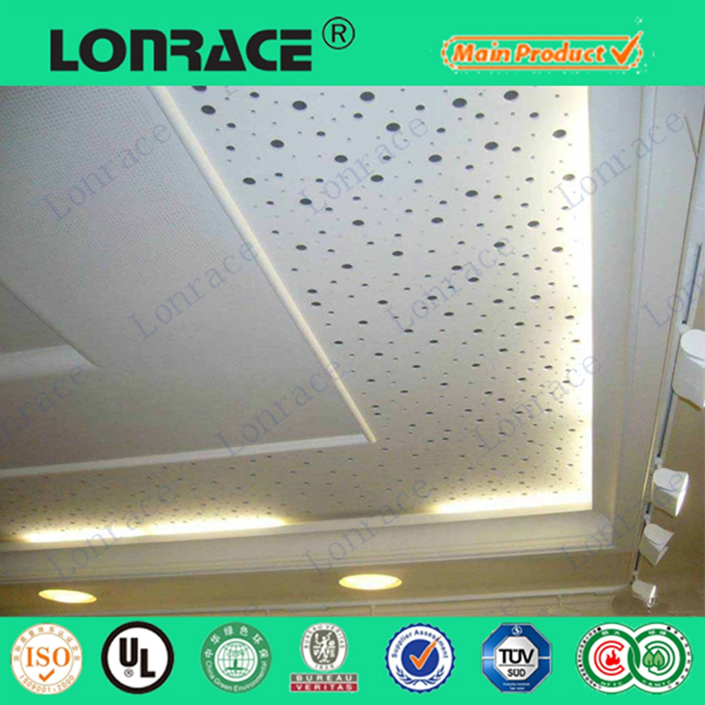 fire rated gypsum board ceiling decoration