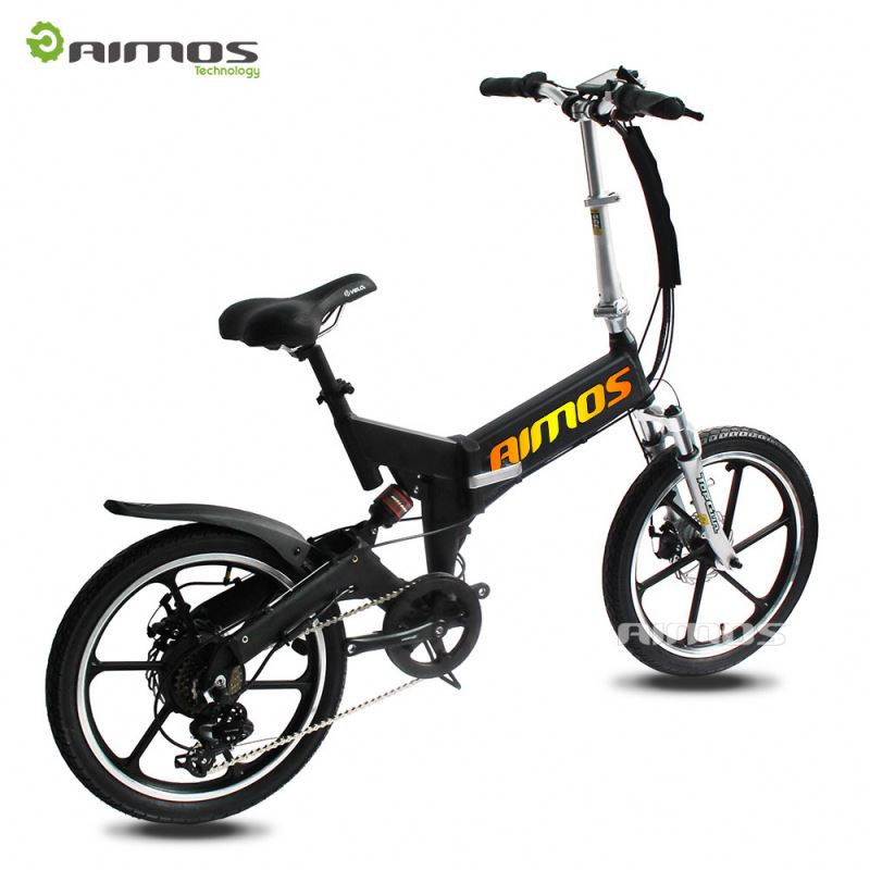 20 Inch Folding 250W Brushless Motor Eletric Bike