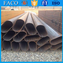 Tianjin square rectangular pipe ! curved steel pipe top quality non alloy rectangular steel pipe