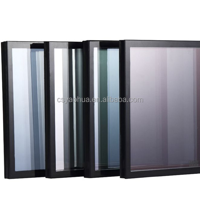 double pane tempered glass for windows glazed glass