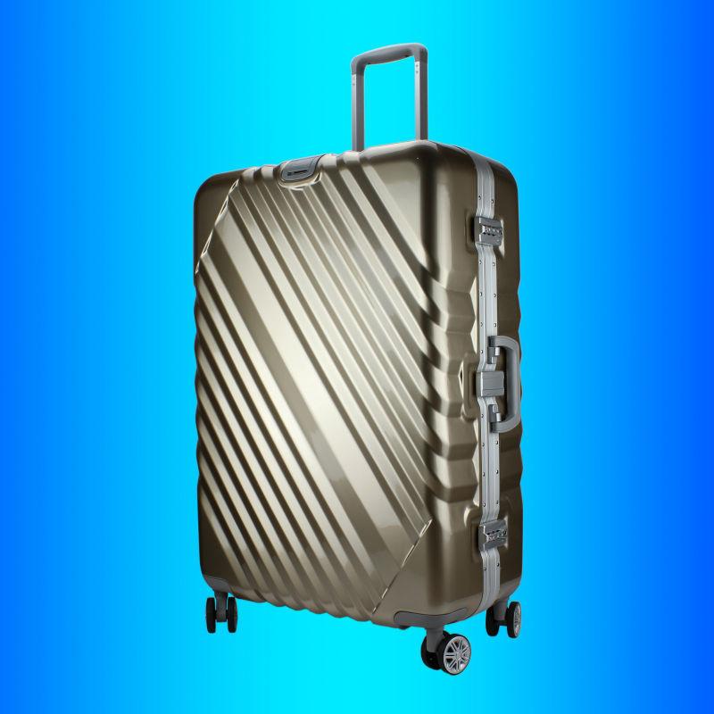 oem metal aluminium frame travel case suitcase maleta koffer valise luggage bag buy luggage. Black Bedroom Furniture Sets. Home Design Ideas