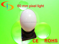 led pixel bulb smd 5050 rgb round milky cover amusement rides lights DC12V