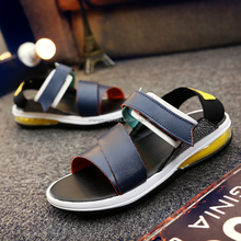 2016 wholesale new men air sport model sandal high heel