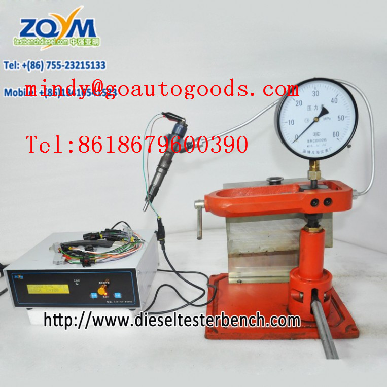 fuel injector pressure tester/Atomizing tester common rail injector Solenoid valve testing tool
