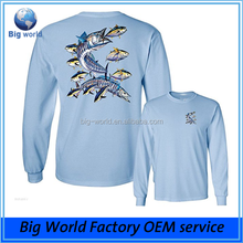 Performance UPF Long Sleeve Fishing T-Shirt Sun Protection Clothing