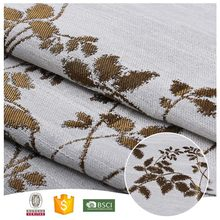 New Products Useful Flower curtain jacquard fabric