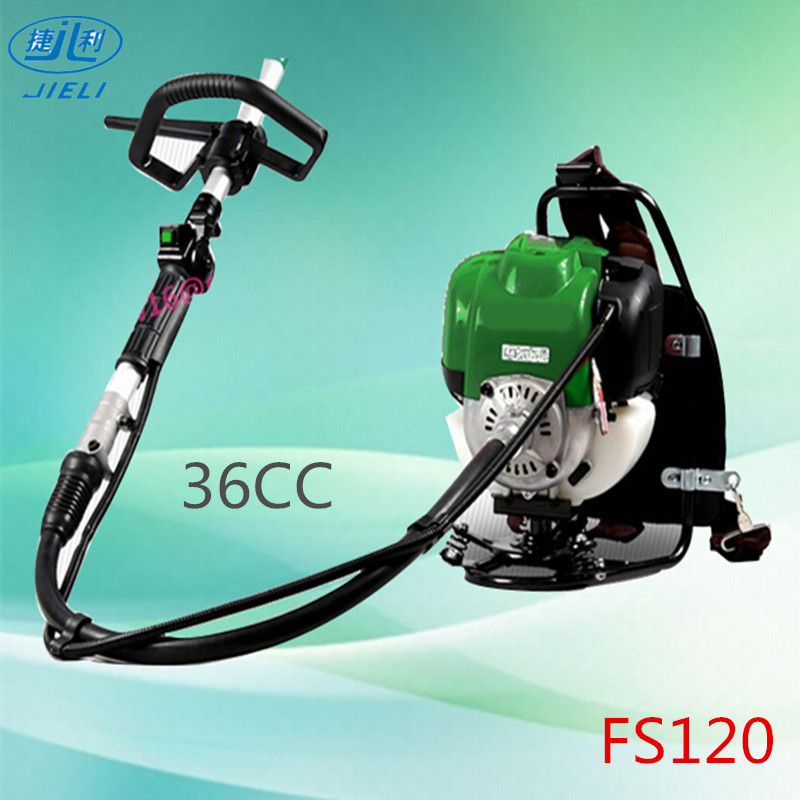 Long pole grass trimmer FS120 brush cutter with 1.6kw 2 stoke power engine