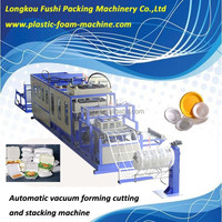 automatic food container making machine/pizza box production line