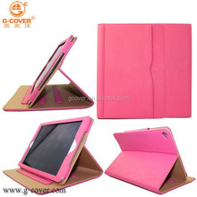 Hot sell leather case for Apple ipad air 2 for ipad 6 PU tablet