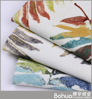 Best price superior quality printed sofa fabric with floral