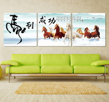 Decorative Abstract Horse Canvas Art Oil Painting For Living Room