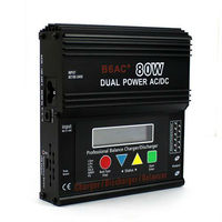New arrive SUPER LiPO Battery Balance CHARGER B6 AC B6AC 80W dual power Built-in AC Adapter