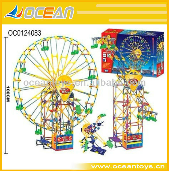 Hot Sell Building Block Toys,Battery Operated Ferris Wheel 678PCS OC0124083