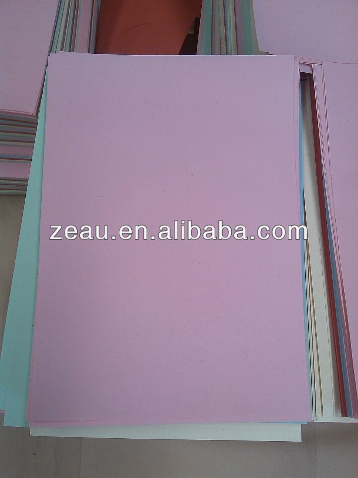 color Electrostatic copy paper
