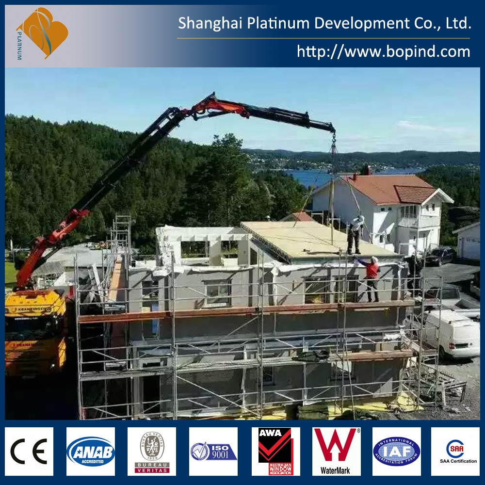 Customized Steel House Frame Pre-engineered Buildings